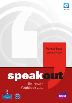 Speakout Elementary Workbook with Key for pack by Frances Eales