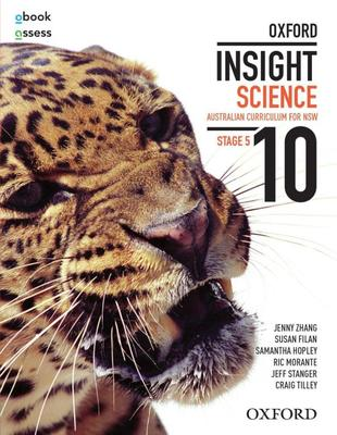 Oxford Insight Science 10 AC for NSW Student book + obook assess book