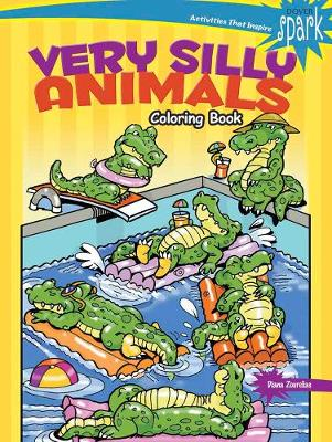 SPARK Very Silly Animals Coloring Book by Diana Zourelias
