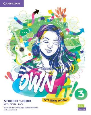 Own it! Level 3 Student's Book with Practice Extra by Samantha Lewis