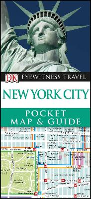 New York City Pocket Map and Guide by DK Travel