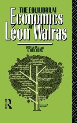 The Equilibrium Economics of Leon Walras by Albert Jolink