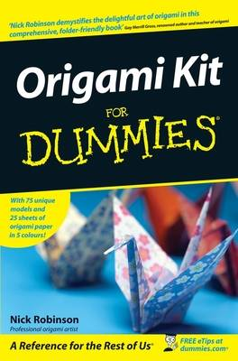 Origami Kit for Dummies book