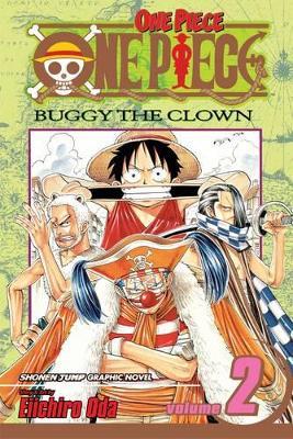 One Piece, Vol.2 Buggy the Clown by Eiichiro Oda