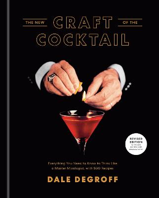 New Craft of the Cocktail book