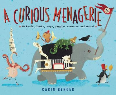 A Curious Menagerie: Of Herds, Flocks, Leaps, Gaggles, Scurries, and More! by Carin Berger