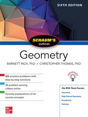 Schaum's Outline of Geometry, Sixth Edition by Barnett Rich