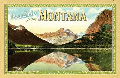 Post Cards from Montana book