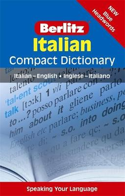Berlitz Compact Dictionary Italian by APA Publications Limited