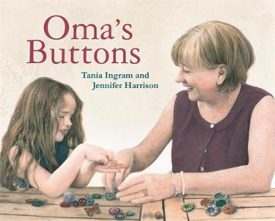 Oma's Buttons book