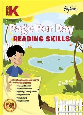 Kindergarten Page Per Day by Sylvan Learning