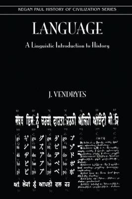 Language and Linguistic Introduction to History book
