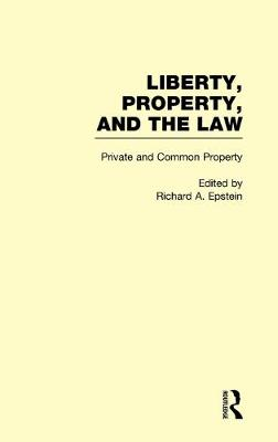 Private and Common Property book