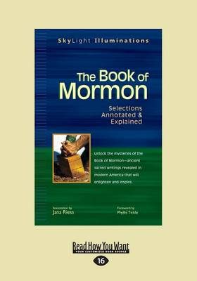 The The Book of Mormon: Selections Annotated & Explained by Jana Riess