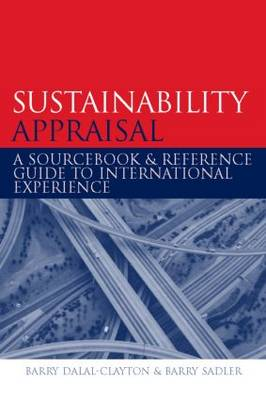 Sustainability Appraisal book