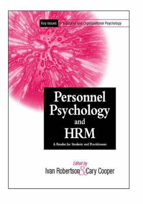 Personnel Psychology and HRM by Cary L. Cooper