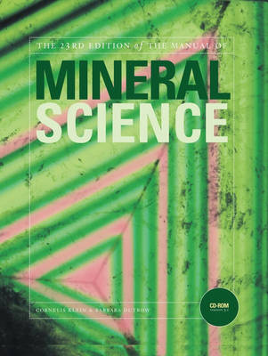 Manual of Mineral Science by Cornelis Klein