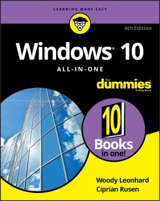 Windows 10 All-in-One For Dummies book