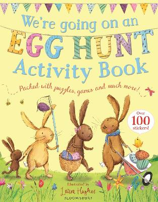 We're Going on an Egg Hunt Activity Book by Martha Mumford