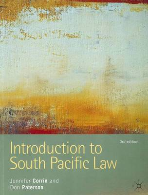 Introduction to South Pacific Law by Jennifer Corrin