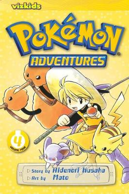 Pokemon Adventures, Vol. 4 (2nd Edition) by Mato
