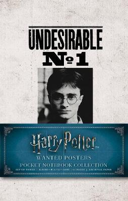 Harry Potter: Wanted Posters Pocket Journal Collection: Set of 3 by Insight Editions