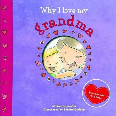 Why I Love My Grandma book