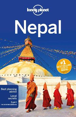 Lonely Planet Nepal book