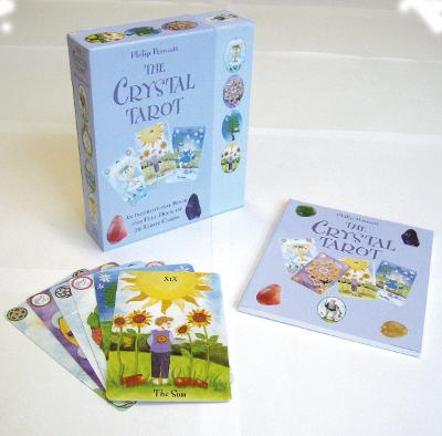 The Crystal Tarot: An Inspirational Book and Full Deck of 78 Tarot Cards by Philip Permutt