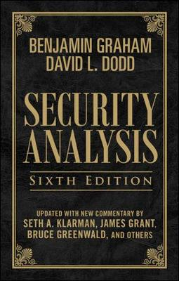 Security Analysis: Sixth Edition, Foreword by Warren Buffett (Limited Leatherbound Edition) book