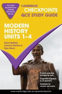 Cambridge Checkpoints QCE Modern History Units 1-4 book