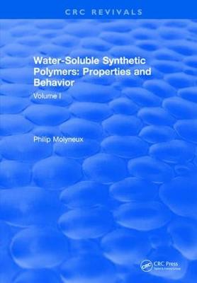 Water-Soluble Synthetic Polymers by Philip Molyneux