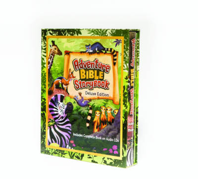 Adventure Bible Storybook Deluxe Edition by Catherine DeVries