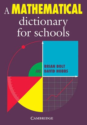 Mathematical Dictionary for Schools book
