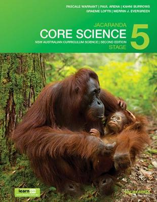 Jacaranda Core Science Stage 5 NSW Australian Curriculum 2E LearnON & Print by Pascale Warnant