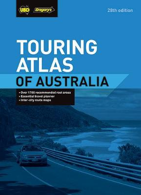 Touring Atlas of Australia 28th ed by UBD Gregorys