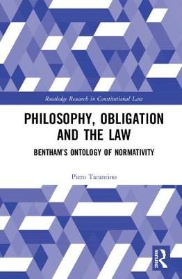 Philosophy, Obligation and the Law by Piero Tarantino