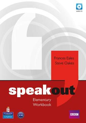Speakout Elementary Workbook without Key for pack by Frances Eales