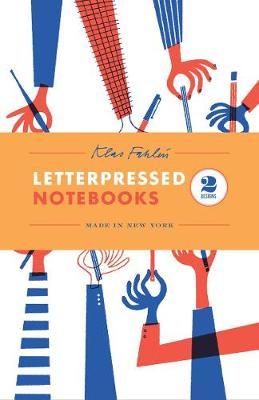 Klas Fahlen: Two Letterpressed Notebooks by Klas Fahlen