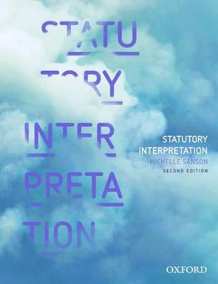 Statutory Interpretation book