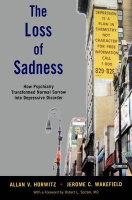 The Loss of Sadness by Allan V. Horwitz