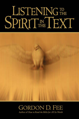 Listening to the Spirit in the Text book