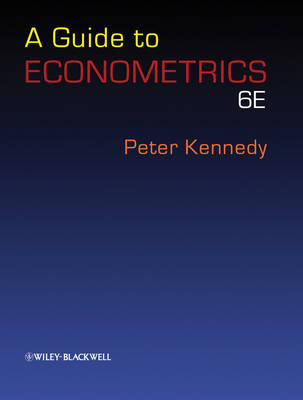 A Guide to Econometrics by Peter Kennedy