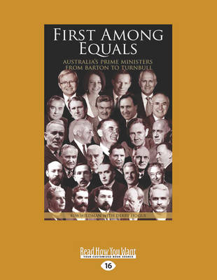 First Among Equals by Kim Wildman and Derry Hogue