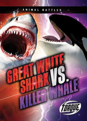 Great White Shark VS Killer Whale by Thomas K Adamson