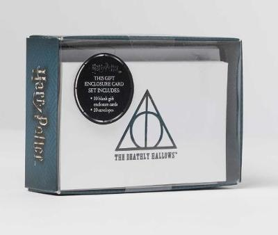 Harry Potter: Deathly Hallows Foil Gift Enclosure Cards (Set by Insight Editions