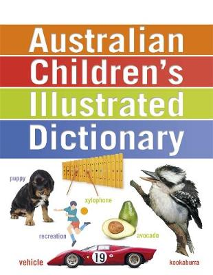 Australian Children's Illustrated Dictionary book