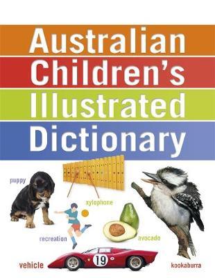 Australian Children's Illustrated Dictionary book