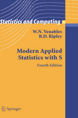 Modern Applied Statistics with S by Brian D. Ripley