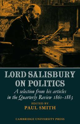Lord Salisbury on Politics book